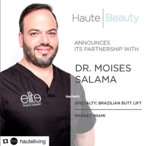 Dr. Salama Partners With Haute Living