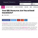 Your BBL Resource: Are You a Good Candidate?